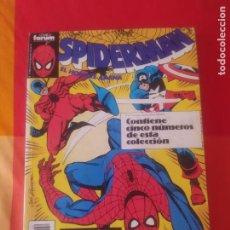 Cómics: SPIDERMAN FÒRUM RETAPADO DEL 185 AL 190. Lote 269369063