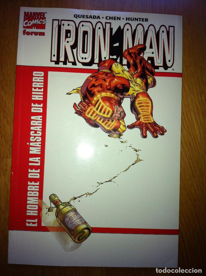 IRON MAN EL HOMBRE DE LA MÁSCARA DE HIERRO NUMS. 1 (Tebeos y Comics - Forum - Iron Man)