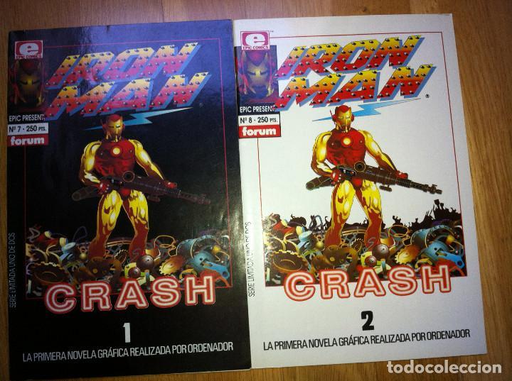 IRON MAN CRASH NUMS. 1 AL 2 (Tebeos y Comics - Forum - Iron Man)