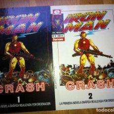 Cómics: IRON MAN CRASH NUMS. 1 AL 2. Lote 269263213