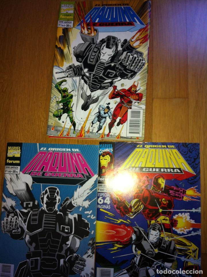 IRON MAN EL ORIGEN DE MÁQUINA DE GUERRA NUMS. 1 AL 6 (Tebeos y Comics - Forum - Iron Man)