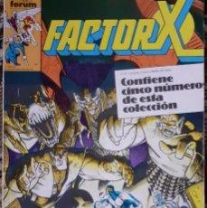 Cómics: FACTOR X - FORUM RETAPADO, NºS 36 A 40. Lote 269584028