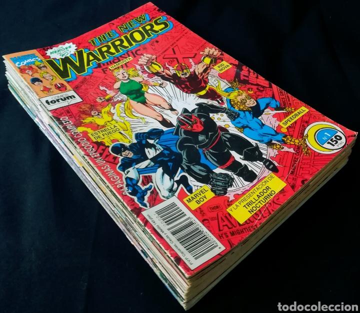 Cómics: The New Warriors (lote de 20) - Foto 2 - 269593618