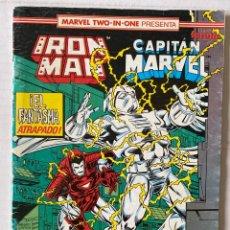 Cómics: IRON MAN MARVEL TWO IN ONE CAPITÁN MARVEL VOL 1 FÓRUM #56 EN BUEN ESTADO. Lote 269674503