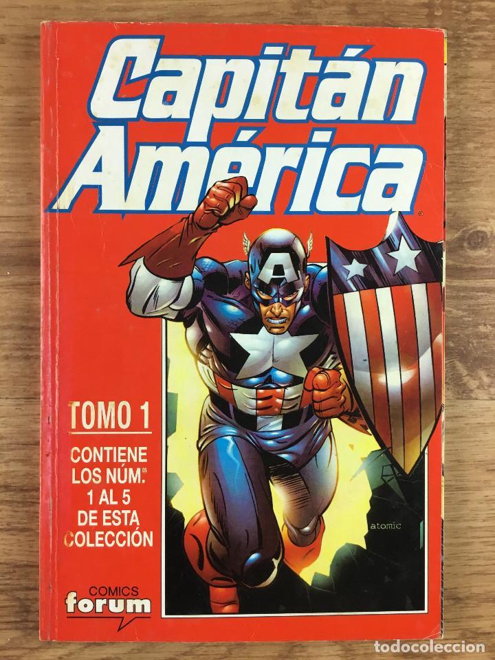 CAPITÁN AMERICA - VOL 4 NÚMEROS DEL 1 AL 5 COMICS FORUM 1998 (Tebeos y Comics - Forum - Retapados)