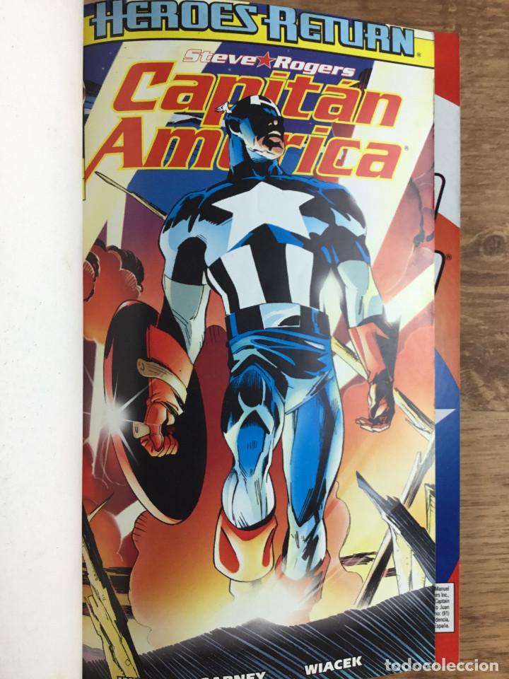 Cómics: CAPITÁN AMERICA - Vol 4 Números del 1 al 5 Comics FORUM 1998 - Foto 2 - 269727423