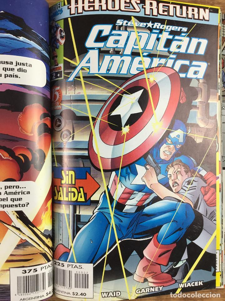 Cómics: CAPITÁN AMERICA - Vol 4 Números del 1 al 5 Comics FORUM 1998 - Foto 3 - 269727423