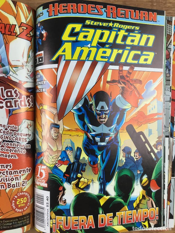Cómics: CAPITÁN AMERICA - Vol 4 Números del 1 al 5 Comics FORUM 1998 - Foto 4 - 269727423