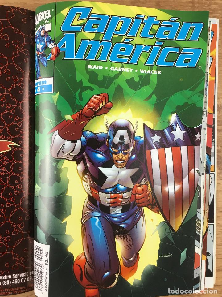 Cómics: CAPITÁN AMERICA - Vol 4 Números del 1 al 5 Comics FORUM 1998 - Foto 5 - 269727423
