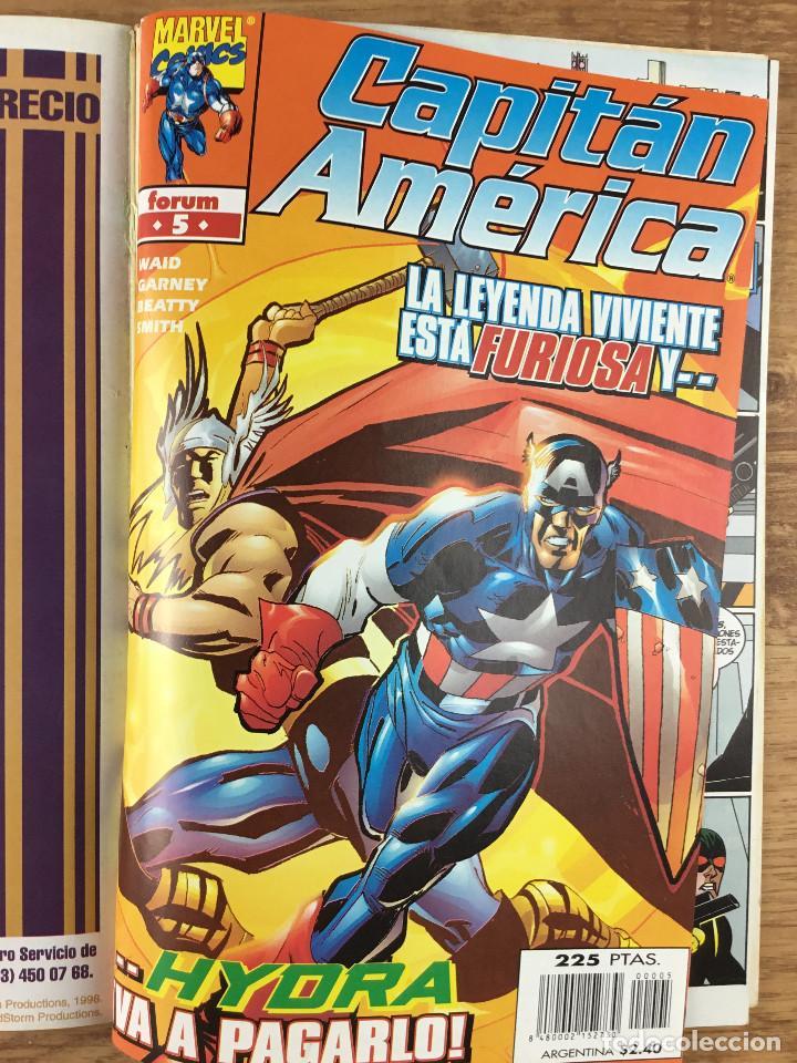 Cómics: CAPITÁN AMERICA - Vol 4 Números del 1 al 5 Comics FORUM 1998 - Foto 6 - 269727423