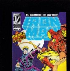 Cómics: IRON MAN - VOL 3 - Nº 4 - LA VENGANZA DE OJO DE HALCON - FORUM -. Lote 269737278