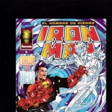 Cómics: IRON MAN - VOL 3 - Nº 9 - CORAZÓN DE HIELO - FORUM -. Lote 269740653