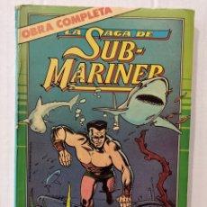 Cómics: LA SAGA DE SUBMARINER - TOMO OBRA COMPLETA - FORUM. Lote 269741723