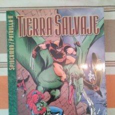 Fumetti: TIERRA SALVAJE SPIDERMAN PATRULLA X - FORUM COMIC MARVEL PEDIDO MINIMO 3€. Lote 269746093