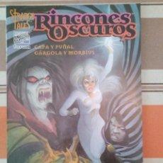 Cómics: CAPA Y PUÑAL MORBIUS GARGOLA RINCONES OSCUROS - FORUM COMIC MARVEL - PEDIDO MINIMO 3€. Lote 269746393