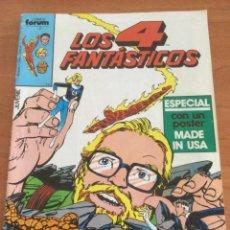 Cómics: LOS 4 FANTÁSTICOS. FORUM MARVEL Nº 21 ESPECIAL CON PÓSTER MADE IN USA. Lote 269816603