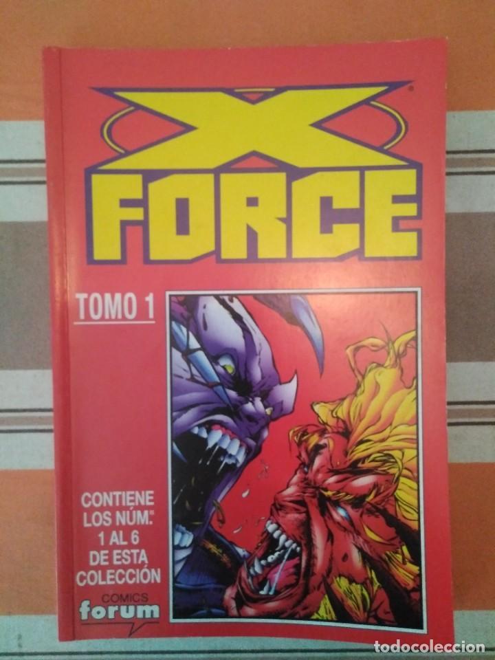 X FORCE TOMO 1 - COMIC MARVEL FORUM PEDIDO MINIMO 3€ (Tebeos y Comics - Forum - Retapados)