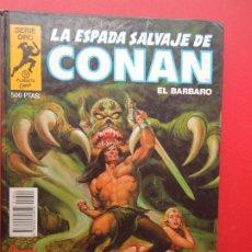 Cómics: LA ESPADA SALVAJE DE CONAN EL BARBARO Nº 4 CONAN EL RENEGADO -SERIE ORO -PLANETA 1982. Lote 269830583