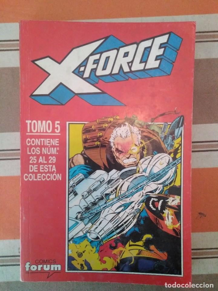 X FORCE TOMO 5 - COMIC MARVEL FORUM (Tebeos y Comics - Forum - Retapados)