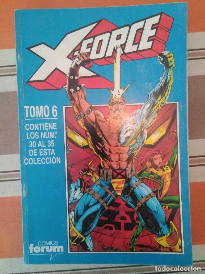 X FORCE TOMO 6 - COMIC MARVEL FORUM (Tebeos y Comics - Forum - Retapados)