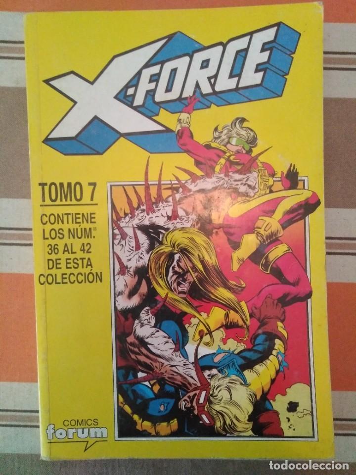 X FORCE TOMO 7 - COMIC MARVEL FORUM (Tebeos y Comics - Forum - Retapados)