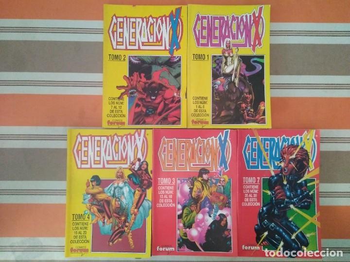 GENERACION X TOMO 1 2 3 4 7 RETAPADOS - COMIC MARVEL FORUM (Tebeos y Comics - Forum - Retapados)