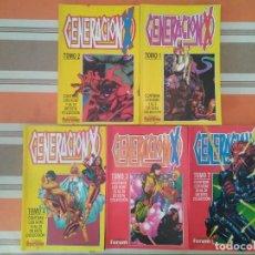 Cómics: GENERACION X TOMO 1 2 3 4 7 RETAPADOS - COMIC MARVEL FORUM. Lote 269831778