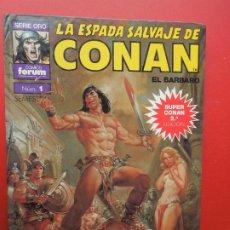 Cómics: LA ESPADA SALVAJE DE CONAN EL BARBARO Nº 1 CONAN EL LIBERTADOR -SERIE ORO -PLANETA 1982. Lote 269831908