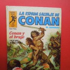 Cómics: LA ESPADA SALVAJE DE CONAN EL BARBARO Nº 2- CONAN EL BRUJO -SERIE ORO -PLANETA 1982. Lote 269832178