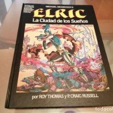 Cómics: ELRIC LA CIUDAD DE LOS SUEÑOS ROY THOMAS & P. CRAIG RUSSELL NOVELAS GRAFICAS MARVEL 1984. Lote 269850268