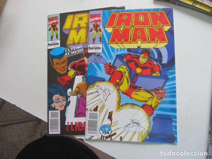Cómics: IRON MAN Nº 1 AL 15 VOL.2 COMPLETA EN GRAPA BUEN ESTADO FORUM ARX108 - Foto 3 - 269963938