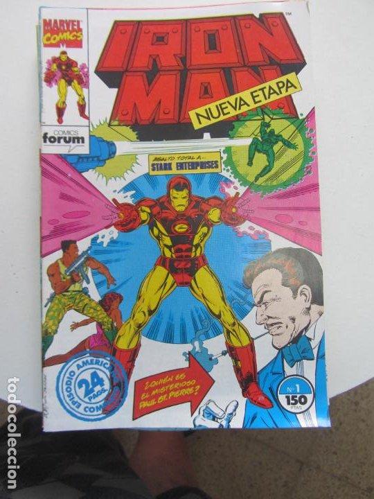 IRON MAN Nº 1 AL 15 VOL.2 COMPLETA EN GRAPA BUEN ESTADO FORUM ARX108 (Tebeos y Comics - Forum - Iron Man)
