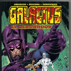 Cómics: GALACTUS EL DEVORADOR (LOUISE SIMONSON, JOHN BUSCEMA, JON J. MUTH, BILL SIENKIEWICZ) -FORUM, 05/2000. Lote 269986498