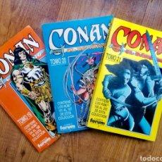 Cómics: RETAPADOS CONAN EL BÁRBARO DE FORUM. Lote 270001173