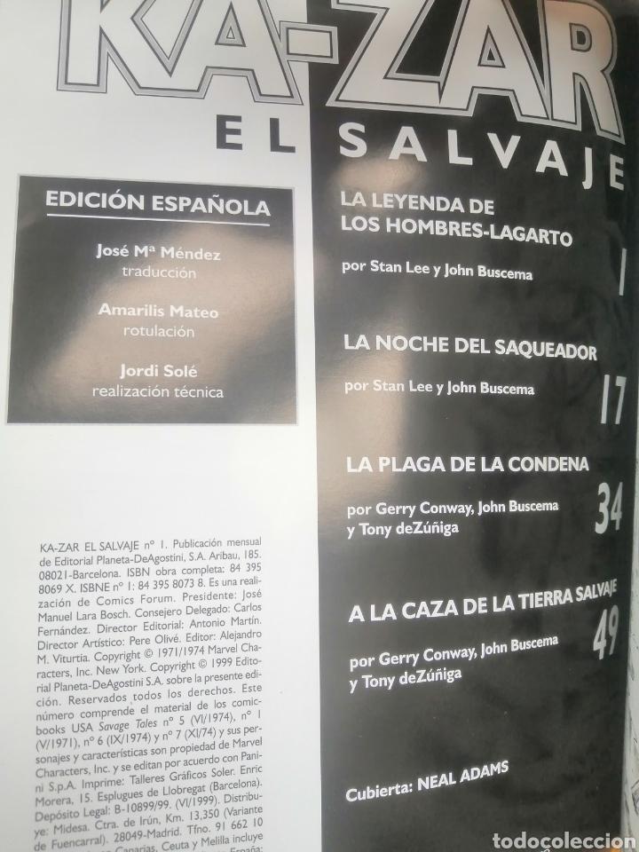 Cómics: Ka-Zar el Salvaje, completa - Foto 3 - 270003018