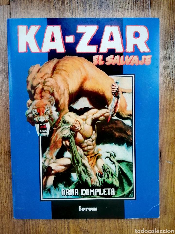 KA-ZAR EL SALVAJE, COMPLETA (Tebeos y Comics - Forum - Retapados)