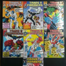 Cómics: TRANSFORMERS 7 RETAPADOS DEL 21 AL 55. Lote 270006308