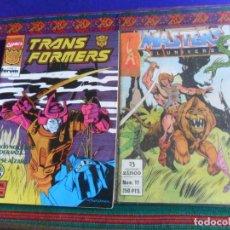 Cómics: FORUM VOL. 1 TRANSFORMERS 68 EL PENÚLTIMO. 1992. REGALO MASTERS DEL UNIVERSO 11 HE-MAN. ZINCO. RARO.. Lote 270106358