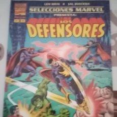 Cómics: SELECCIONES MARVEL: LOS DEFENSORES: CONTRA MAGNETO Y EL MUTANTE ALPHA: FORUM. Lote 270190533