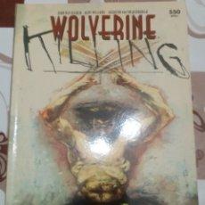 Cómics: WOLVERINE: KILLING: FORUM. Lote 270190673