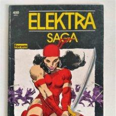 Cómics: ELEKTRA SAGA TOMO IV RESURRECCIÓN - FRANK MILLER (COL. PRESTIGIO V.1 # 7) ~ MARVEL / FORUM (1990). Lote 270371303