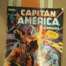 Cómics: CAPITAN AMERICA ANNUAL CONTRA LOBEZNO 23 - COMIC MARVEL. Lote 270406593