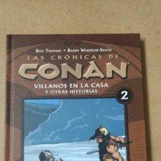 Cómics: TOMO Nº 2 LAS CRONICAS DE CONAN EXCELENTE ESTADO. Lote 270646743