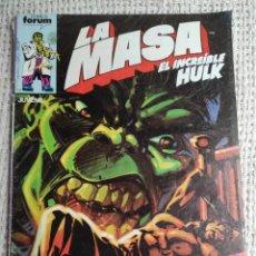 Cómics: LA MASA Nº 31 - EDITA : FORUM AÑOS 80 - 1ª EDICIÓN FORUM. Lote 270648843