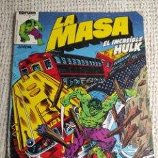 Cómics: LA MASA Nº 13 - EDITA : FORUM AÑOS 80 - 1ª EDICIÓN FORUM. Lote 270648863
