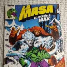 Cómics: LA MASA Nº 12 - EDITA : FORUM AÑOS 80 - 1ª EDICIÓN FORUM. Lote 270648878