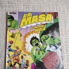 Cómics: LA MASA Nº 43 - EDITA : FORUM AÑOS 80 - 1ª EDICIÓN FORUM. Lote 270649463