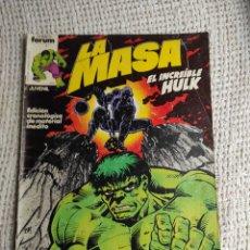 Cómics: LA MASA Nº 6 - EDITA : FORUM AÑOS 80 - 1ª EDICIÓN FORUM. Lote 270649578