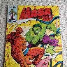 Cómics: LA MASA Nº 30 - EDITA : FORUM AÑOS 80 - 1ª EDICIÓN FORUM. Lote 270649623
