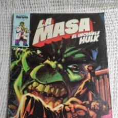 Cómics: LA MASA Nº 31- EDITA : FORUM AÑOS 80 - 1ª EDICIÓN FORUM. Lote 270649638